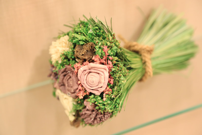 花束のオブジェ